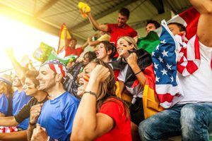 PRIMAGAS Fußball WM 2014 - jubelnde Fans