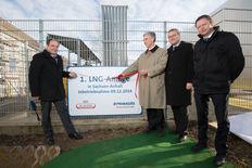 Erste LNG-ANlage in Sachsen-Anhalt, Wethau, Dresden