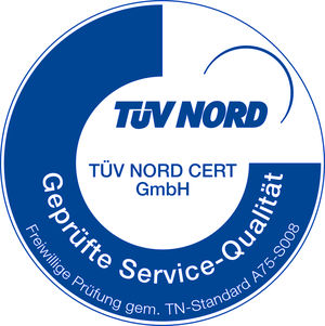 TÜV Nord Servicequalität 2014