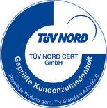 TÜV Nord Kundenzufriedenheit 2013
